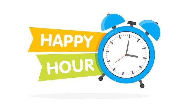 Happy hour wekker
