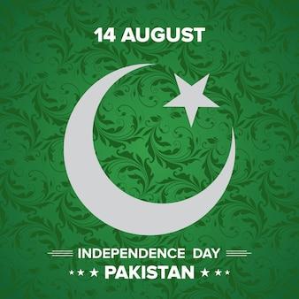 Happy independence day 14 augustus pakistan wenskaart