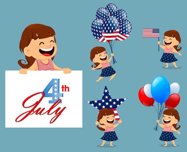 Happy independence day wenskaart