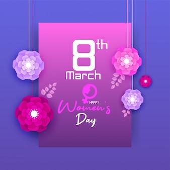 Happy International Women's Day op 8 maart