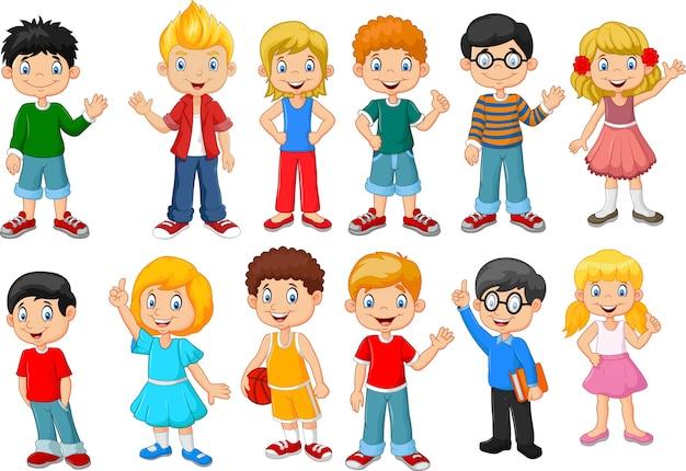 Happy kleine kinderen collectie set