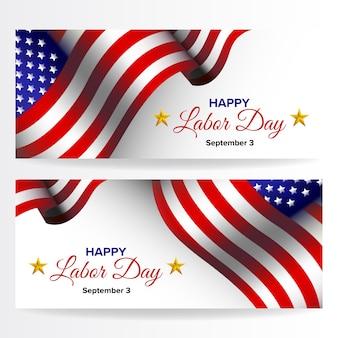 Happy labor day achtergrond - verenigde staten van amerika