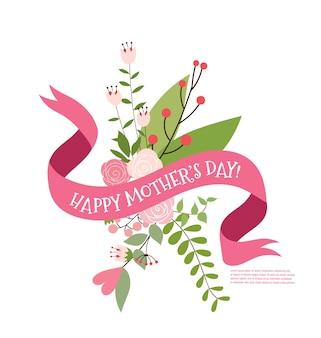 Happy mother's day boeket