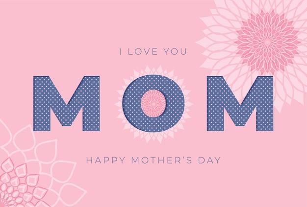 Happy mothers day wenskaart