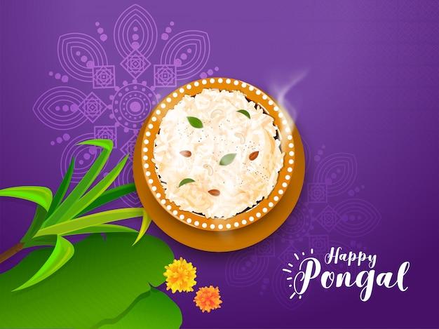 Happy pongal-kaart
