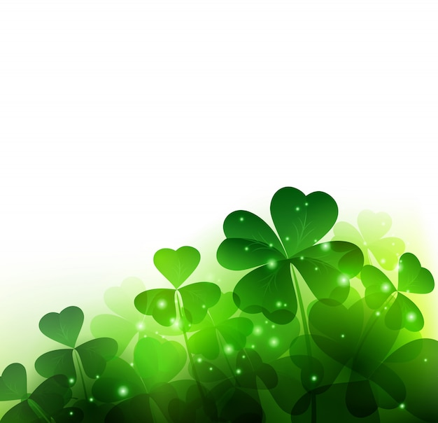 Happy saint patricks day achtergrond.