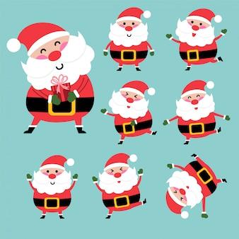 Happy santa karakter
