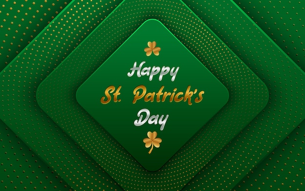 Happy st. patrick's day achtergrond