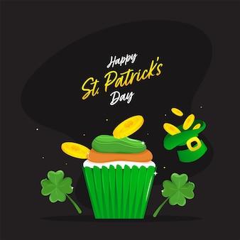 Happy st patrick's day concept illustratie