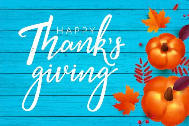 Happy thanksgiving achtergrond.