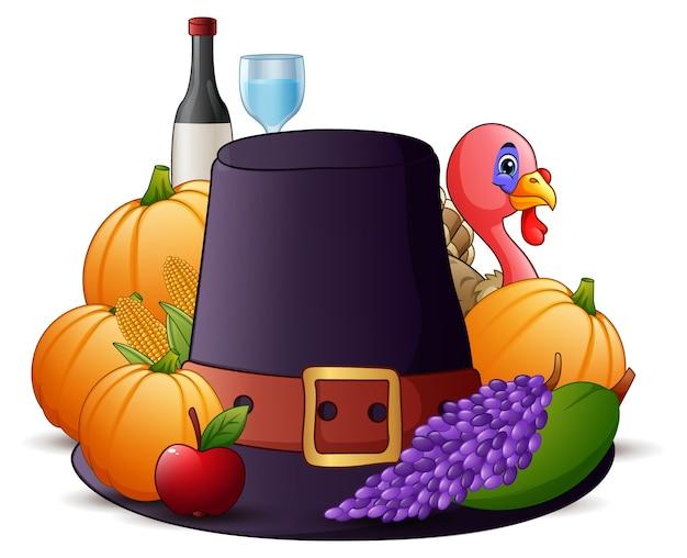 Happy thanksgiving-cartoon