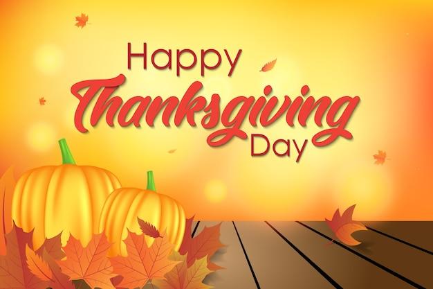 Happy thanksgiving day achtergrond