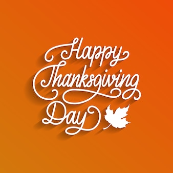 Happy thanksgiving day-groet