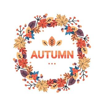 Happy thanksgiving day herfst traditionele oogst vakantie wenskaart