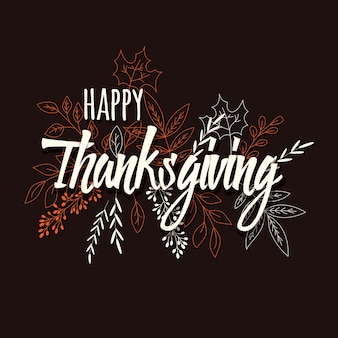 Happy thanksgiving day-kaart