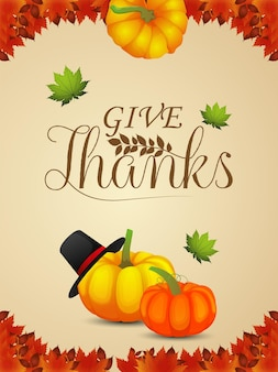 Happy thanksgiving day viering flyer