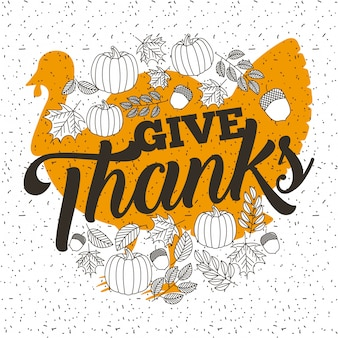 Happy thanksgiving vieren
