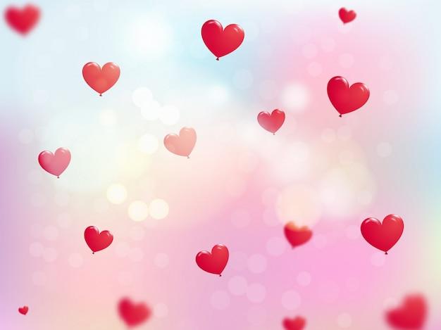 Happy valentijnsdag achtergrond.
