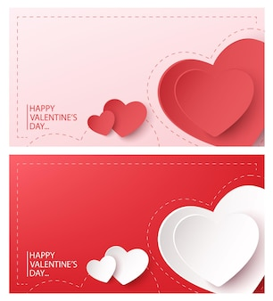 Happy valentijnsdag banner