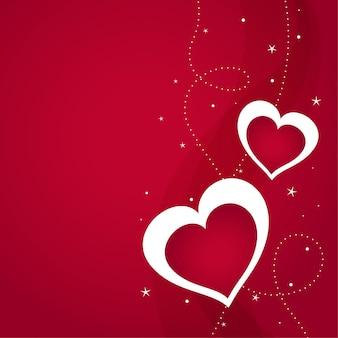 Happy valentijnsdag begroeting achtergrond