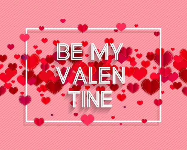 Happy valentijnsdag tekst als valentijnsdag logo badge / pictogram.