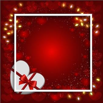 Happy valentijnsdag vector ontwerp.