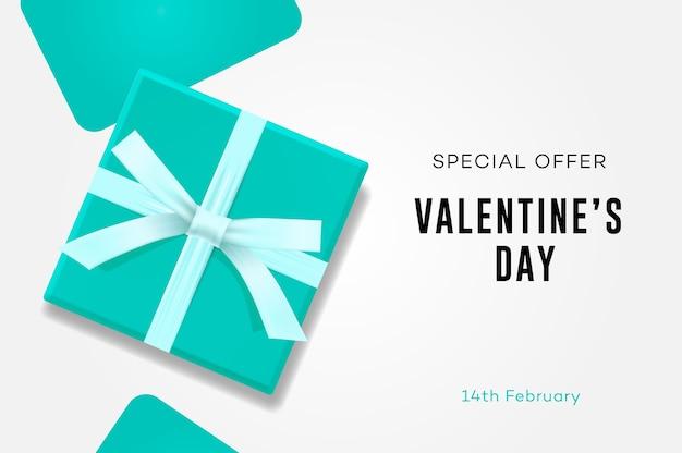 Happy valentijnsdag verkoop geschenkdoos