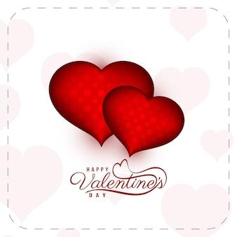 Happy valentijnsdag viering achtergrond