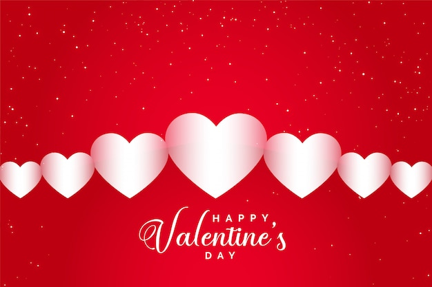 Happy valentijnsdag viering wenskaart