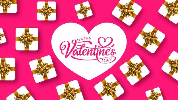 Happy valentijnsdag, wenskaart