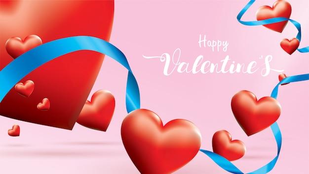 Happy valentine achtergrond