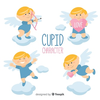 Happy valentine cupid-collectie