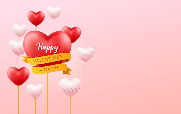 Happy valentine's day illustratie.
