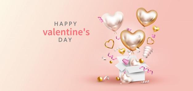 Happy valentine's day wenskaart
