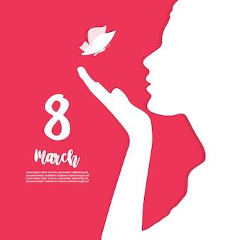 Happy women's day huidige kaart