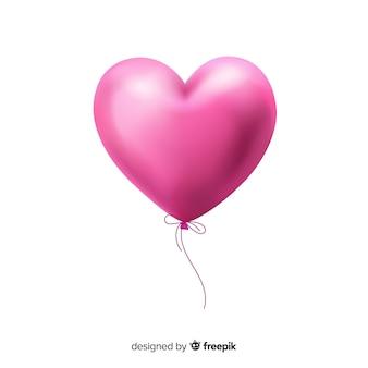 Hart ballon achtergrond