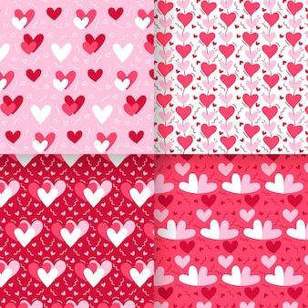 Hart patroon collectie