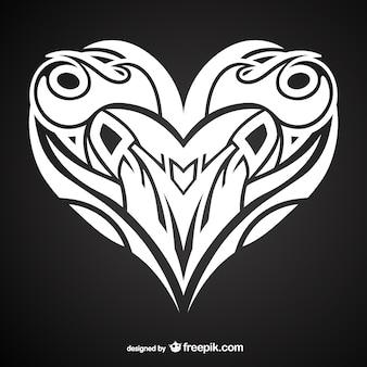 Hart tattoo ontwerpen