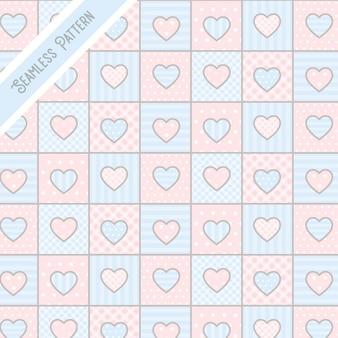 Hart thema naadloze patroon