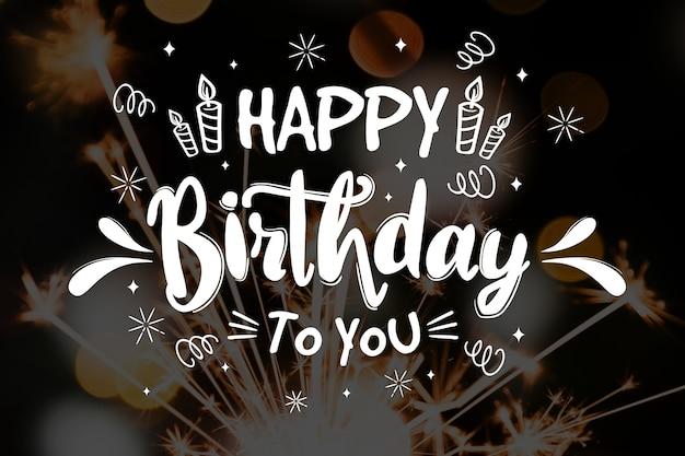 Hartelijk gefeliciteerd met je verjaardag
