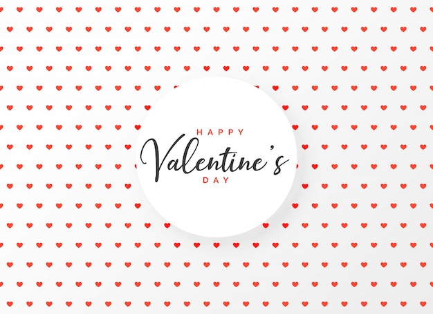 Harten patroon ontwerp achtergrond voor valentijnsdag