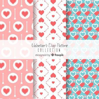 Harten valentijn patronen