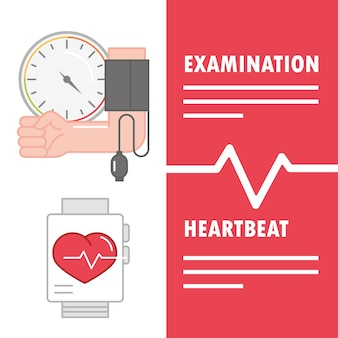 Hartslagonderzoek bij hypertensie