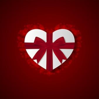 Hartvormige geschenkdoos