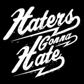 Haters gaan haten