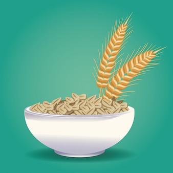 Havermout gezond voedsel