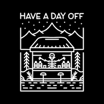 Heb een vrije dag