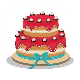 Heerlijk cakeontwerp