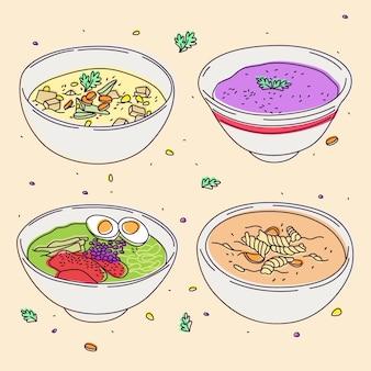 Heerlijk comfort food concept