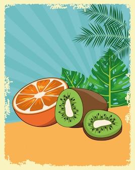 Heerlijk fruit cartoon